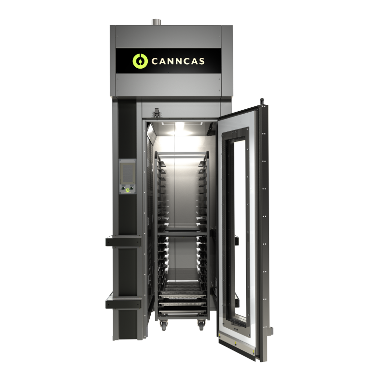Commercial cannabis drying system from Canncas